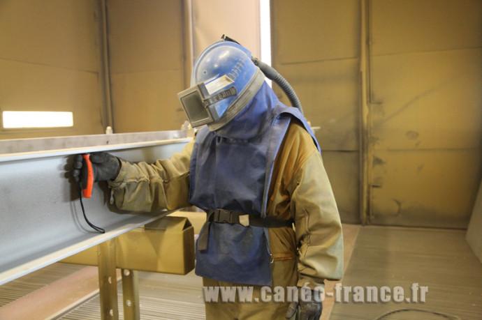 Controle shoopage, vérification de la métallisation, anticorrosion, galvanisation industrielle, procédé anti rouille sté canéo 79200 Parthenay